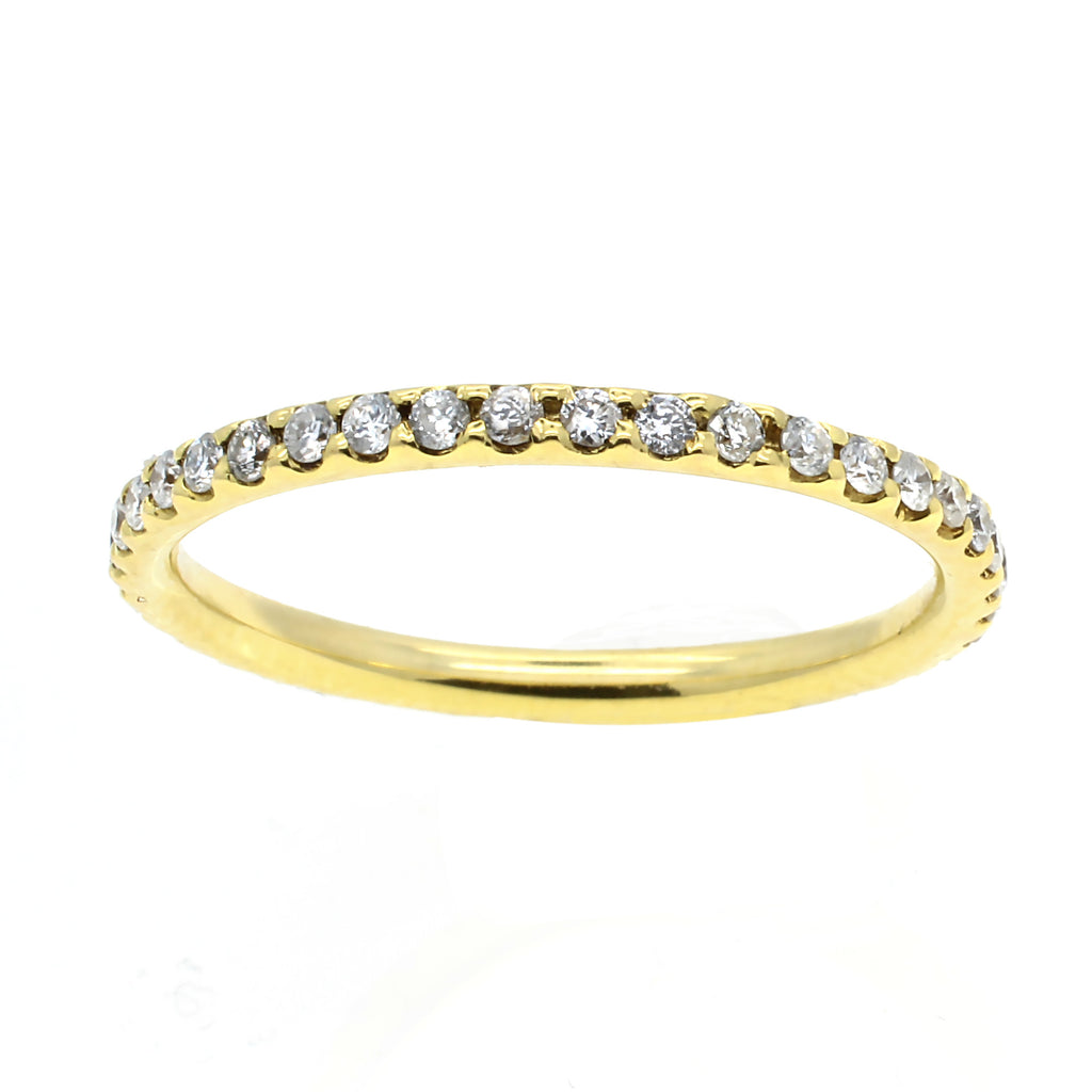 eternity band, diamond, ring, band, meira t , wedding ring, engagement ring, new york city, gem, stone, april