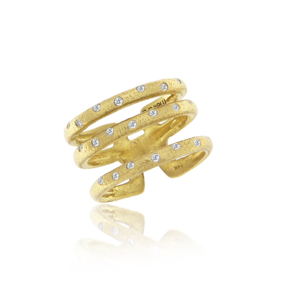 Yellow Gold Twist Ring