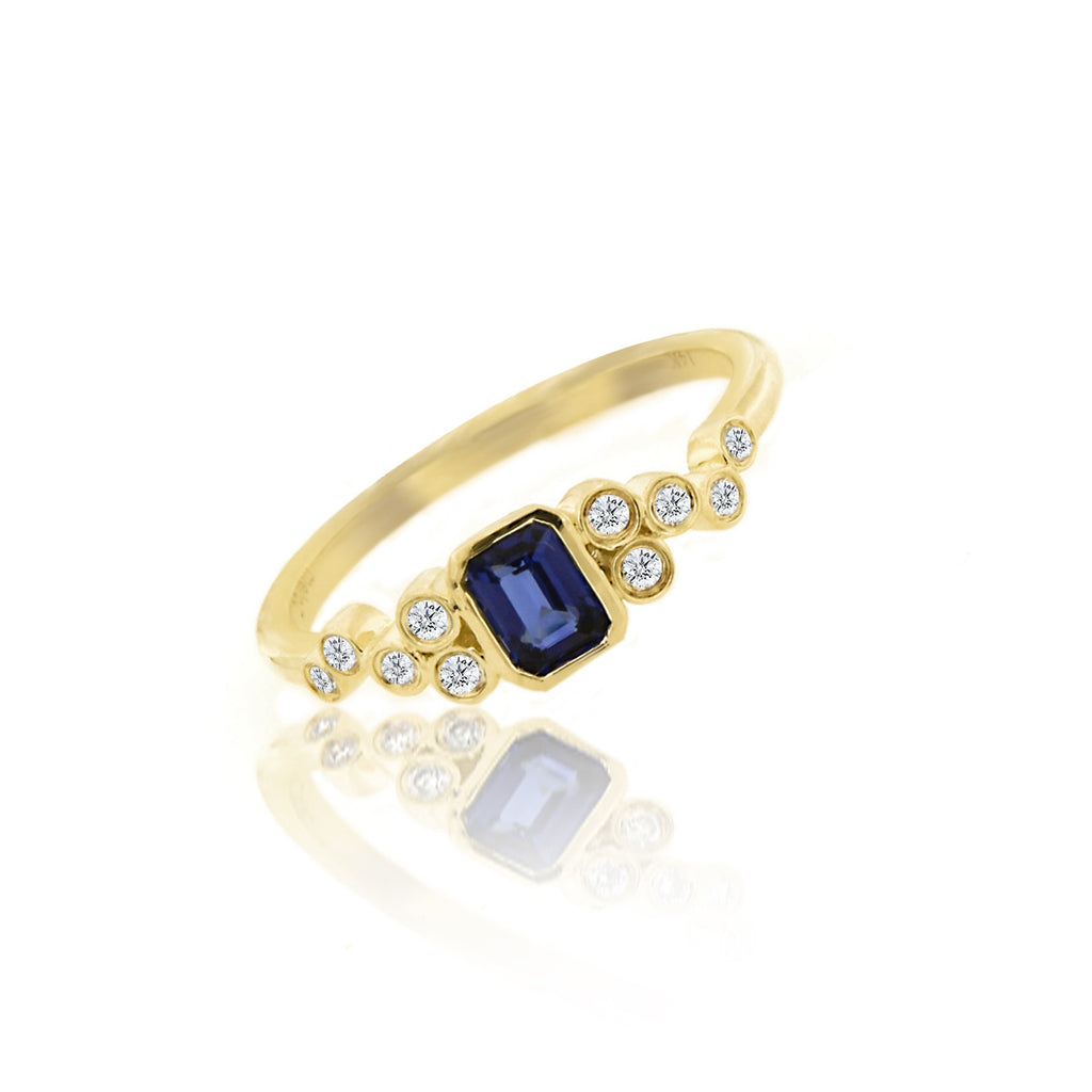 Sapphire Vintage Ring