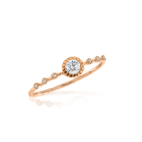 Delicate Diamond Band