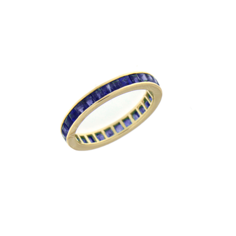 Yellow Gold Sapphire Ring