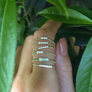 diamond ring-Meira T