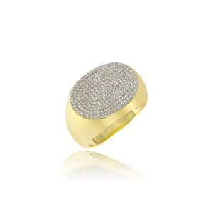 Pave Cocktail Ring