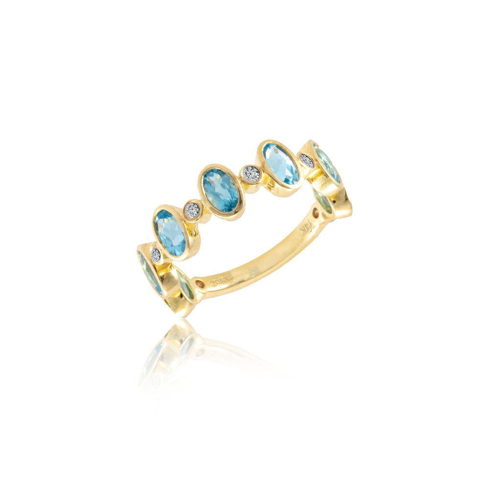 Blue Topaz Half Band