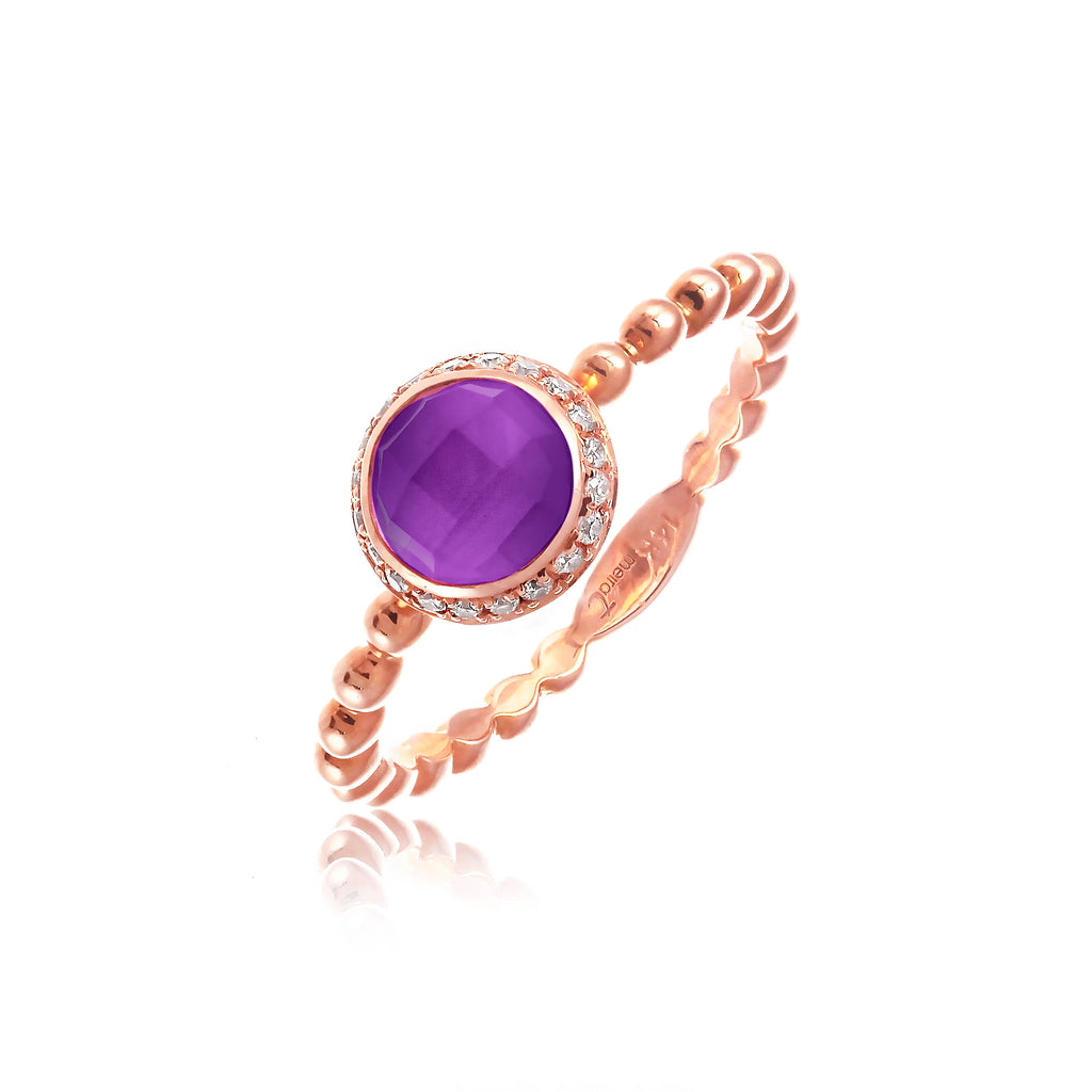 Delicate Amethyst Ring
