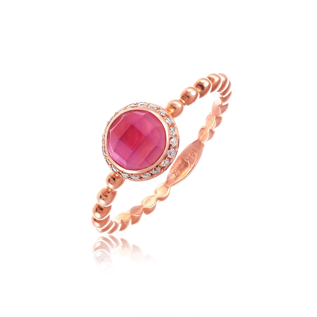 Delicate Ruby Ring