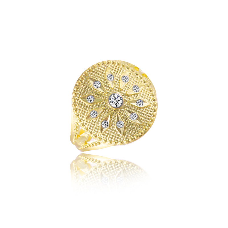 Yellow Gold Cocktail Ring