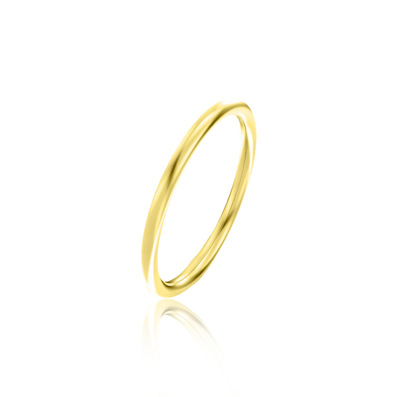Thin Gold Stackable Band