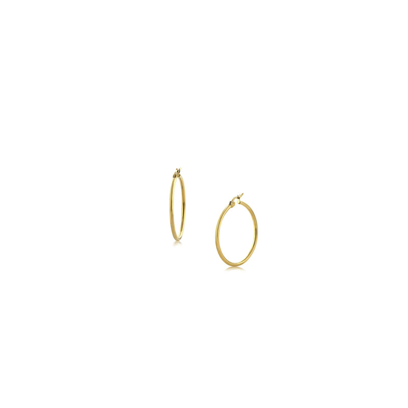 Tiny Gold Hoop