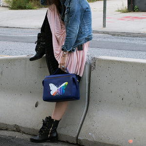The Meira Drip Butterfly Bag