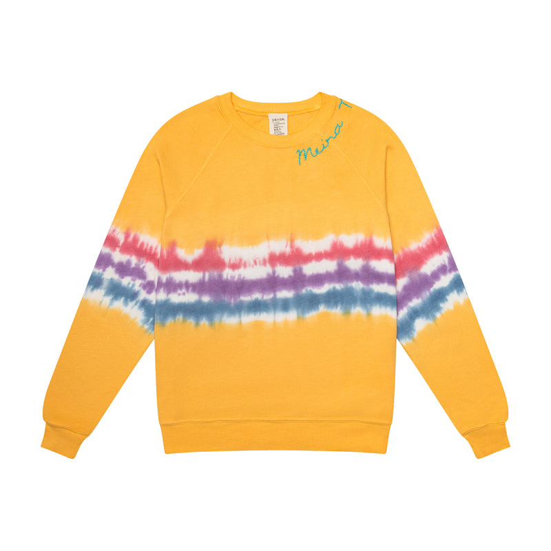 Limited Edition Tye Dye MEIRAT  sweatshirt by I Stole my Boyfriend's Shirt YELLOW