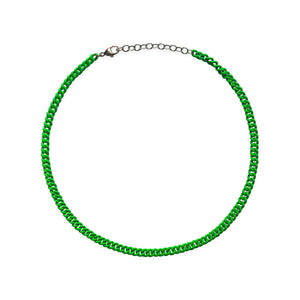 Neon Green Curb Chain WEB EXCLUSIVE