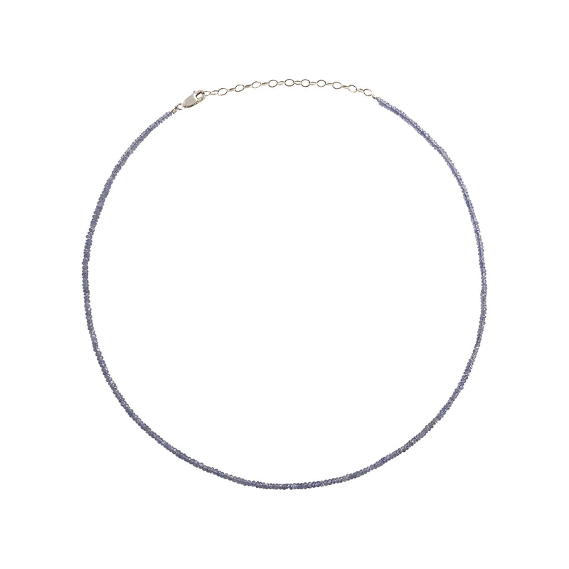 Dainty Light Purple Tanzanite Layering Necklace