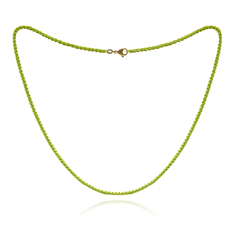 Yellow Neon Chain- ALL NEW WEB EXCLUSIVE