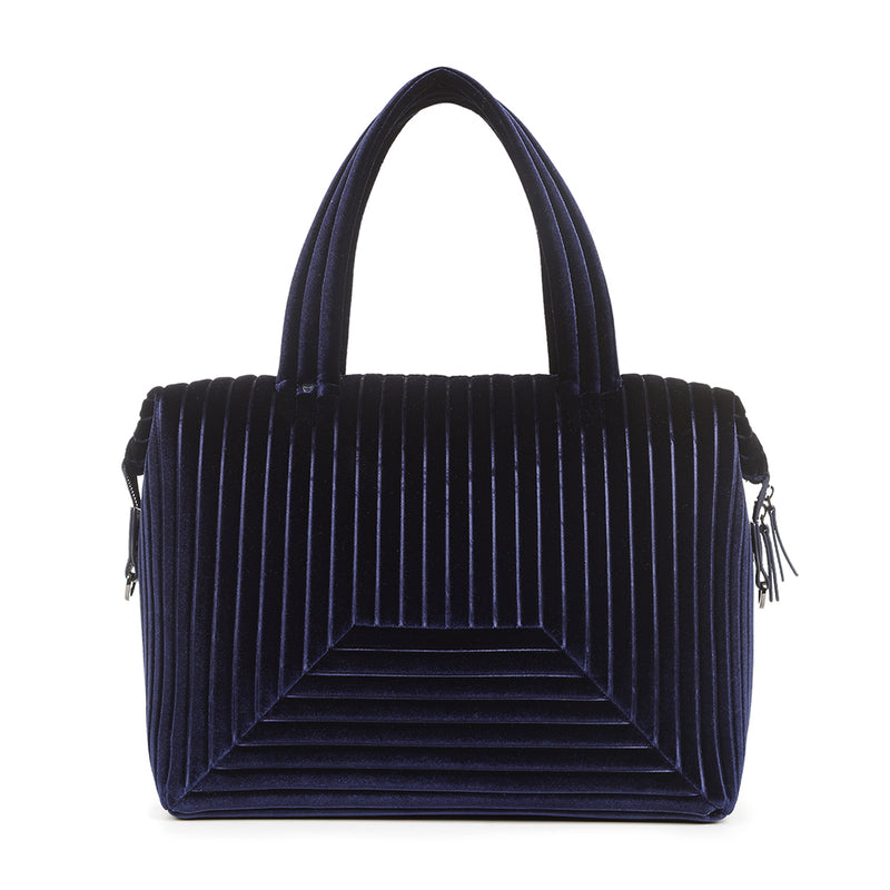 The Large Brigitte Bag in Navy