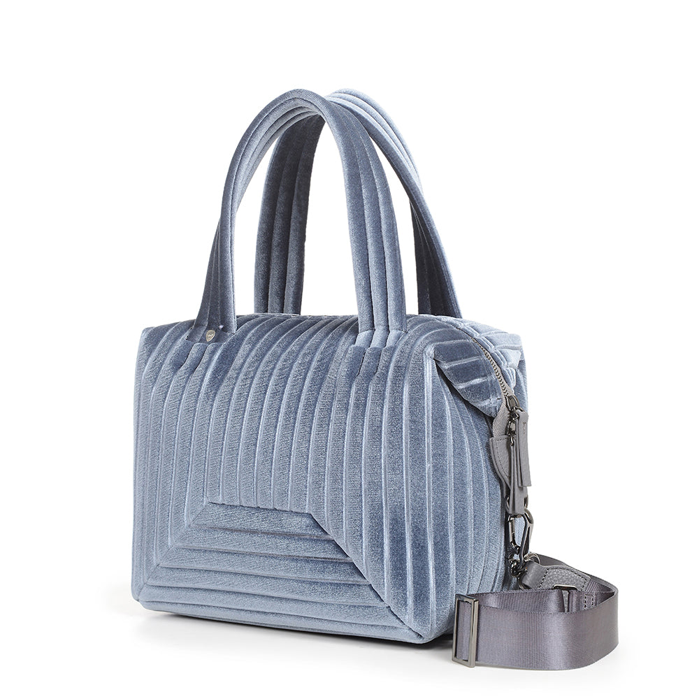 The Small Brigitte Bag in Grey