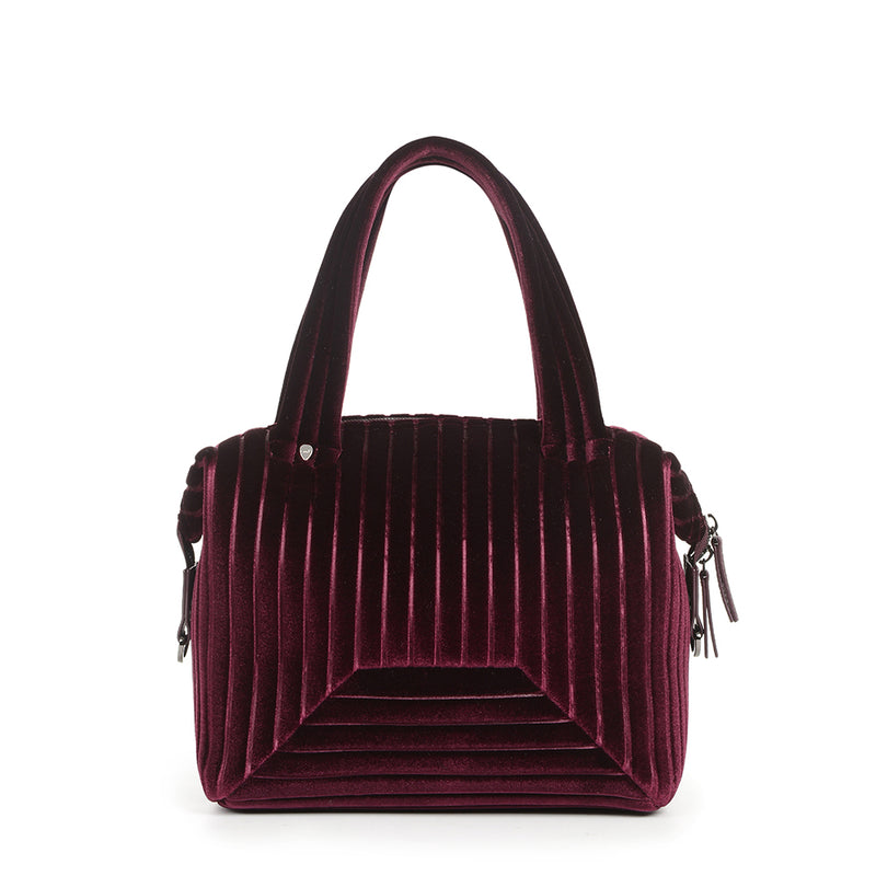 The Small Brigitte Bag in Wine