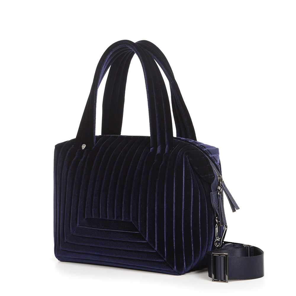 The Small Brigitte Bag in Navy