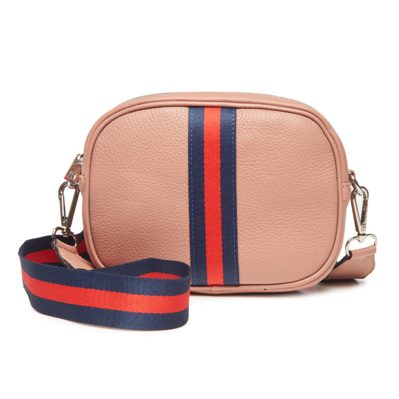 Dusty Rose Crossbody Camera Bag