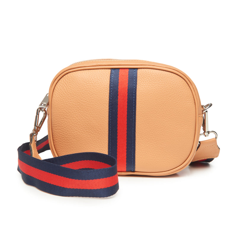 Sorbet Orange Crossbody Camera Bag