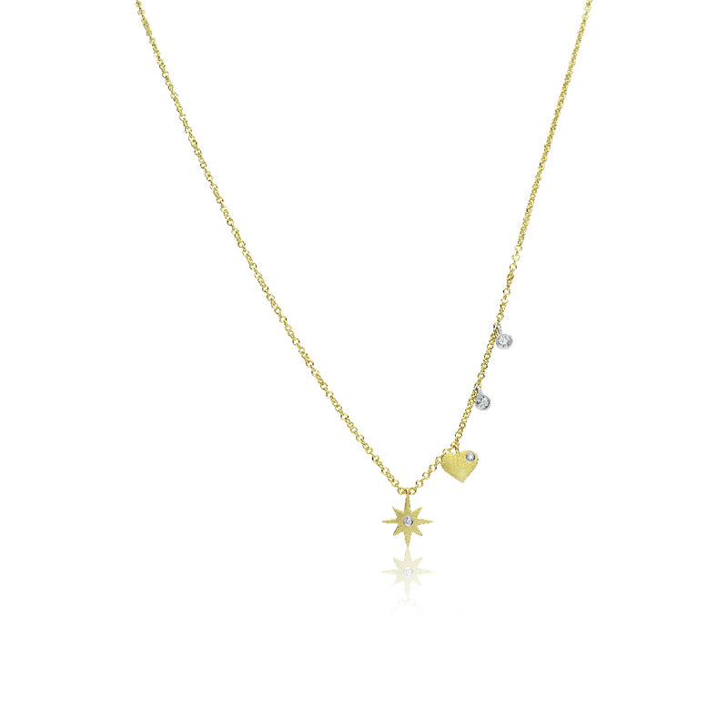 Starburst Dainty Necklace