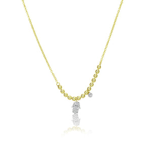 Hamsa Spot Chain Necklace