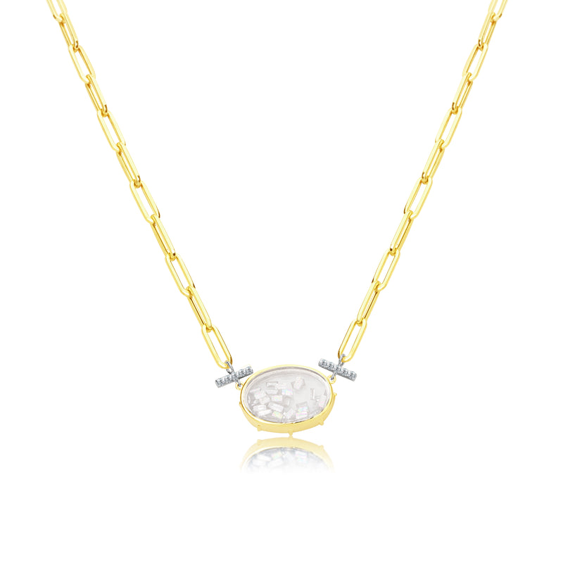 Shaker Diamond Necklace