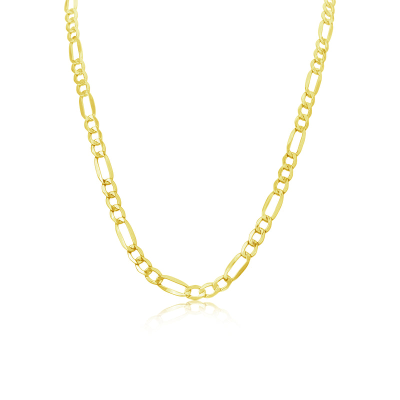 Thick Gold Chain Link Necklace