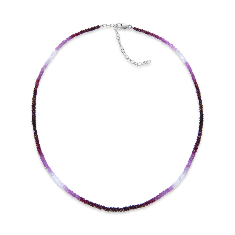 Ombre Ruby Layering Necklace
