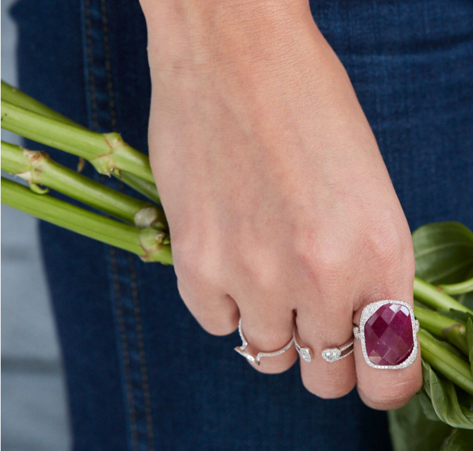 Ruby Cocktail Ring