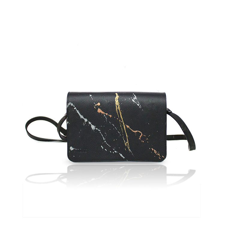 The Chantal Mettalic Splash Bag