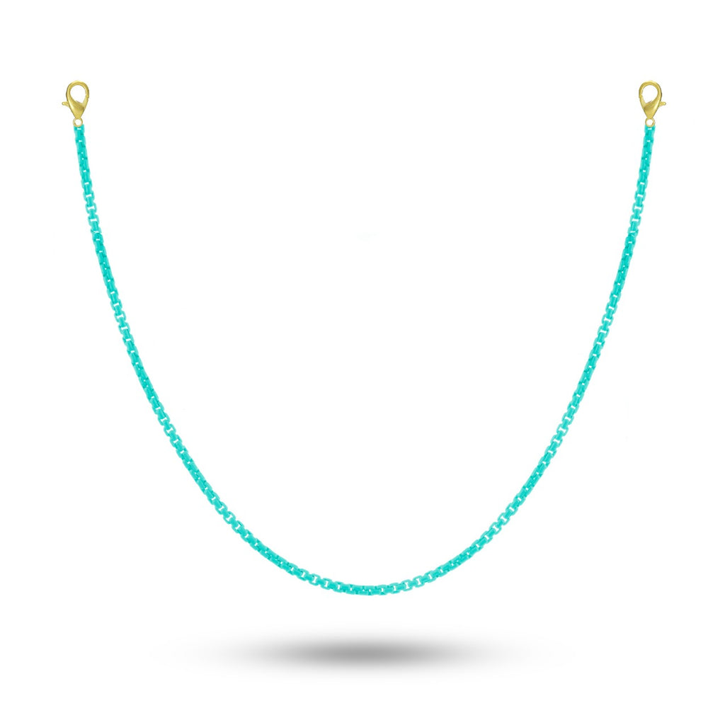 Turquoise MASK CHAIN