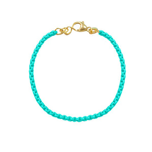 Turquoise Chain Bracelet (All New!)