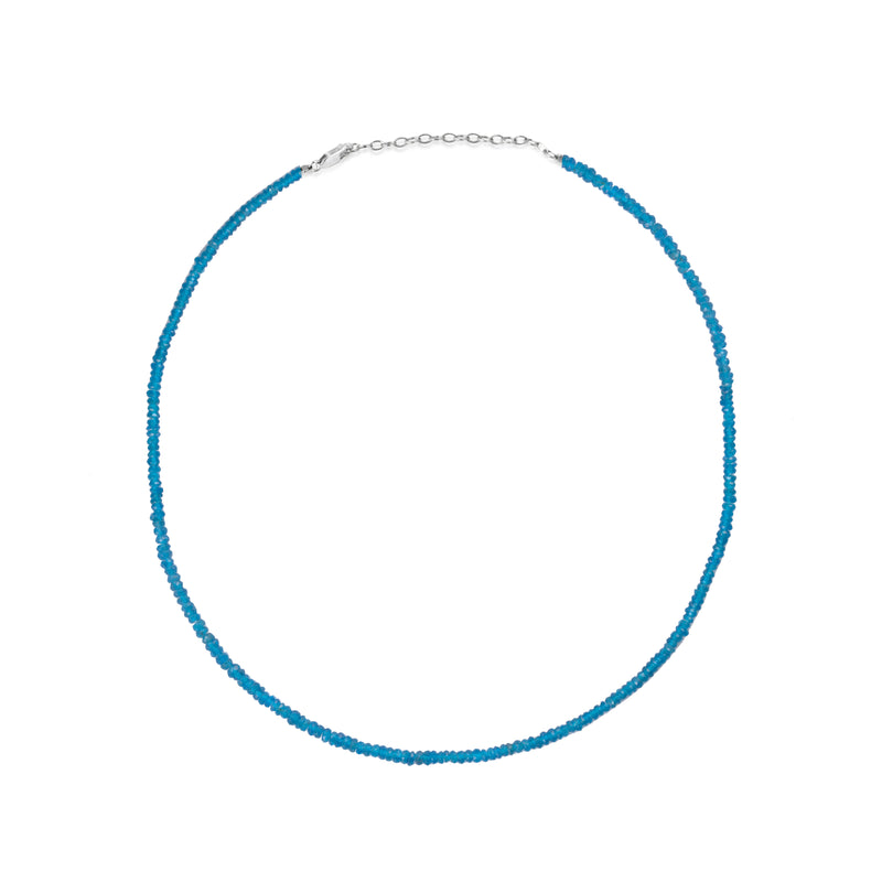 Dainty Apatite Layering Necklace