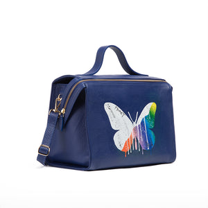 Painted Butterfly Bag