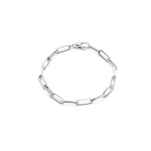 White Gold Chunky 10mm Gold Bracelet