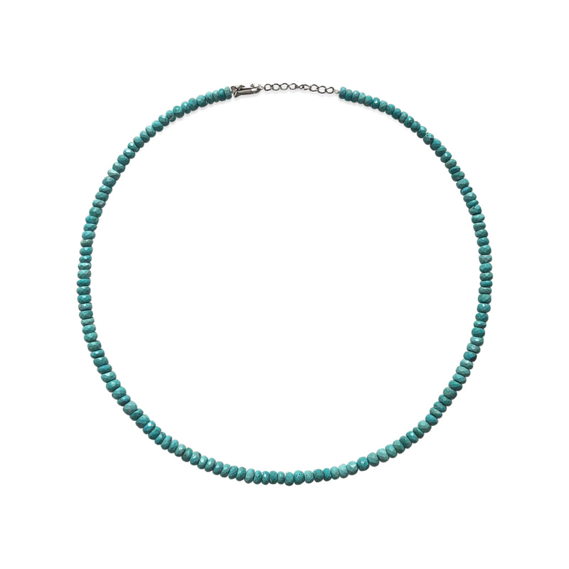 Turquoise Beaded Layering Necklace