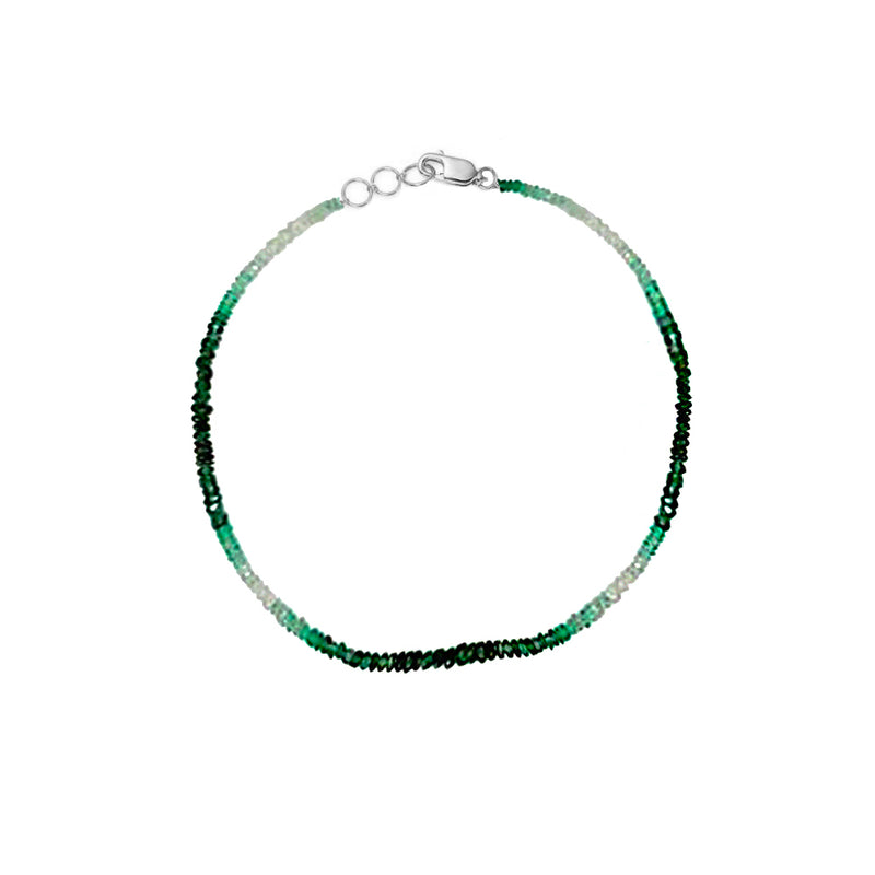 Ombre Emerald Layering Bracelet