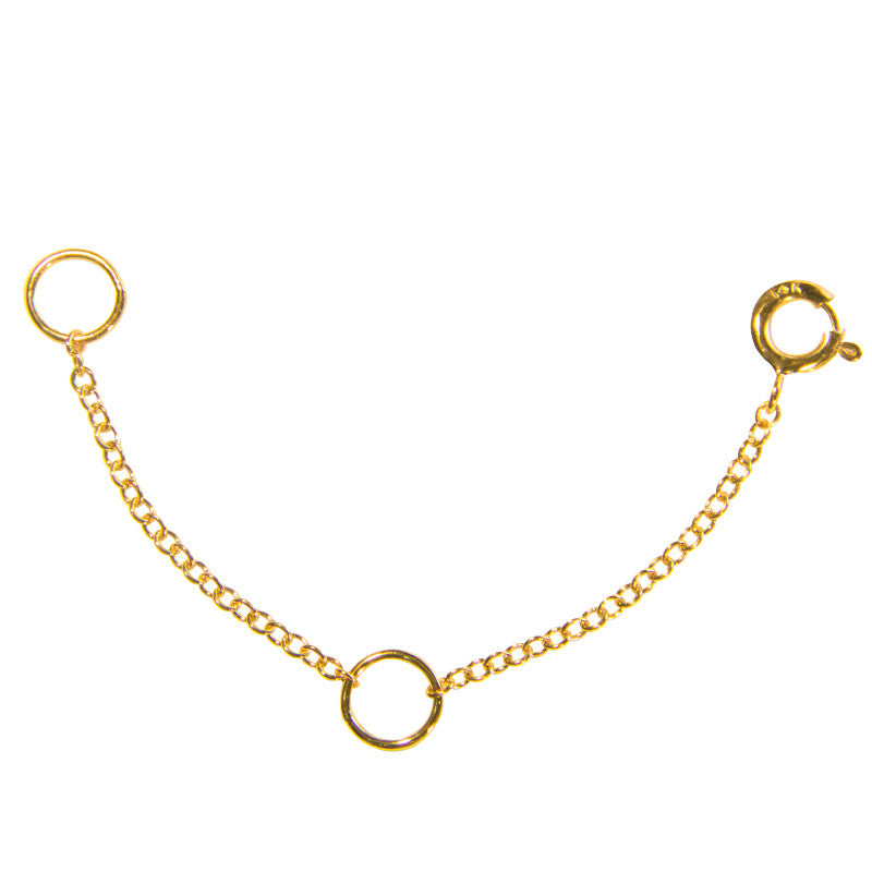 yellow gold Necklace Extender