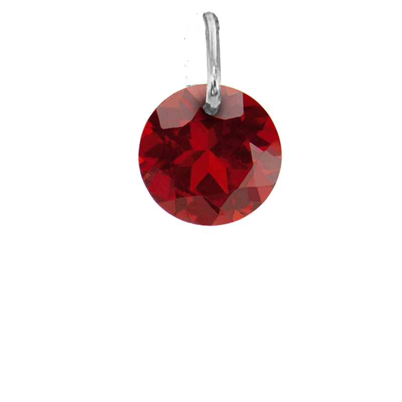 Drilled Garnet January Birthstone