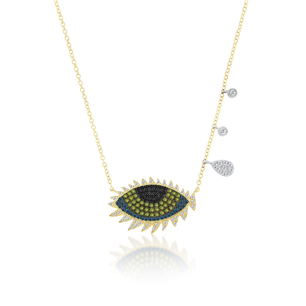 jewelry eye zoe diamond lev evil necklace