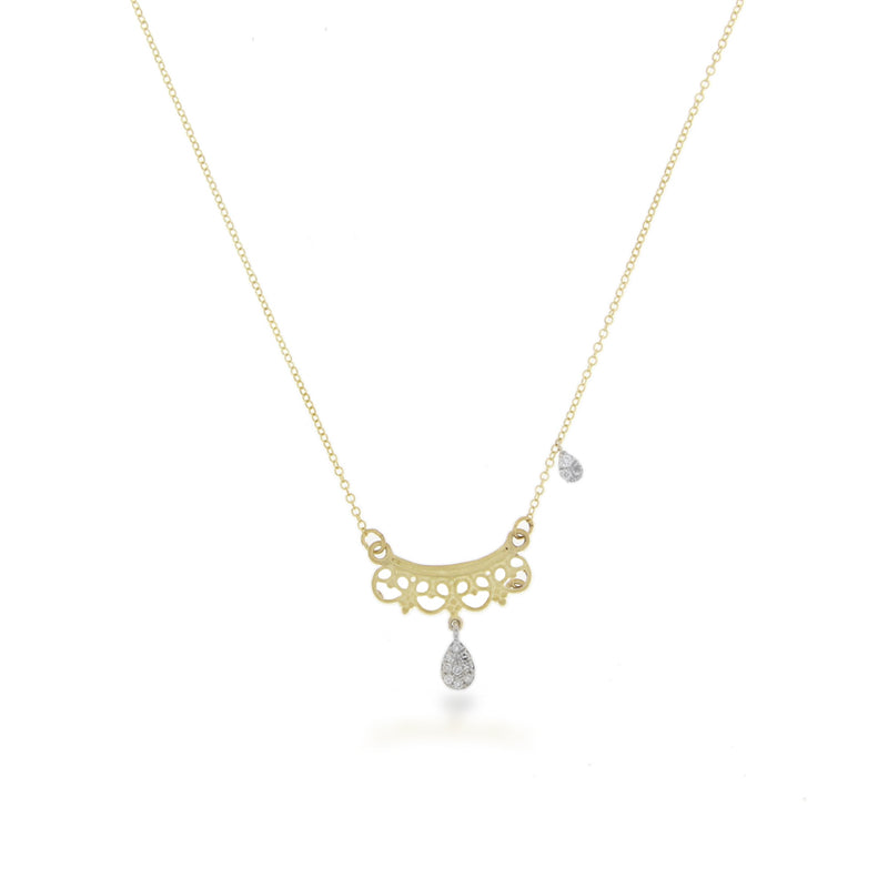 Filigree Diamond Necklace