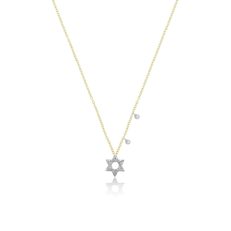Dainty Jewish Star Necklace