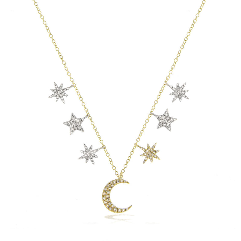 diamond necklace-Meira T