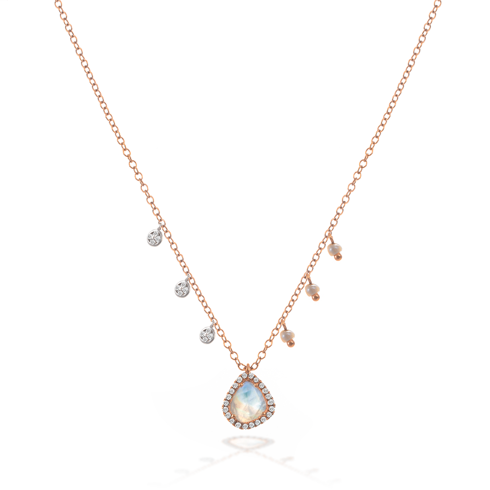 moonstone necklace-Meira T