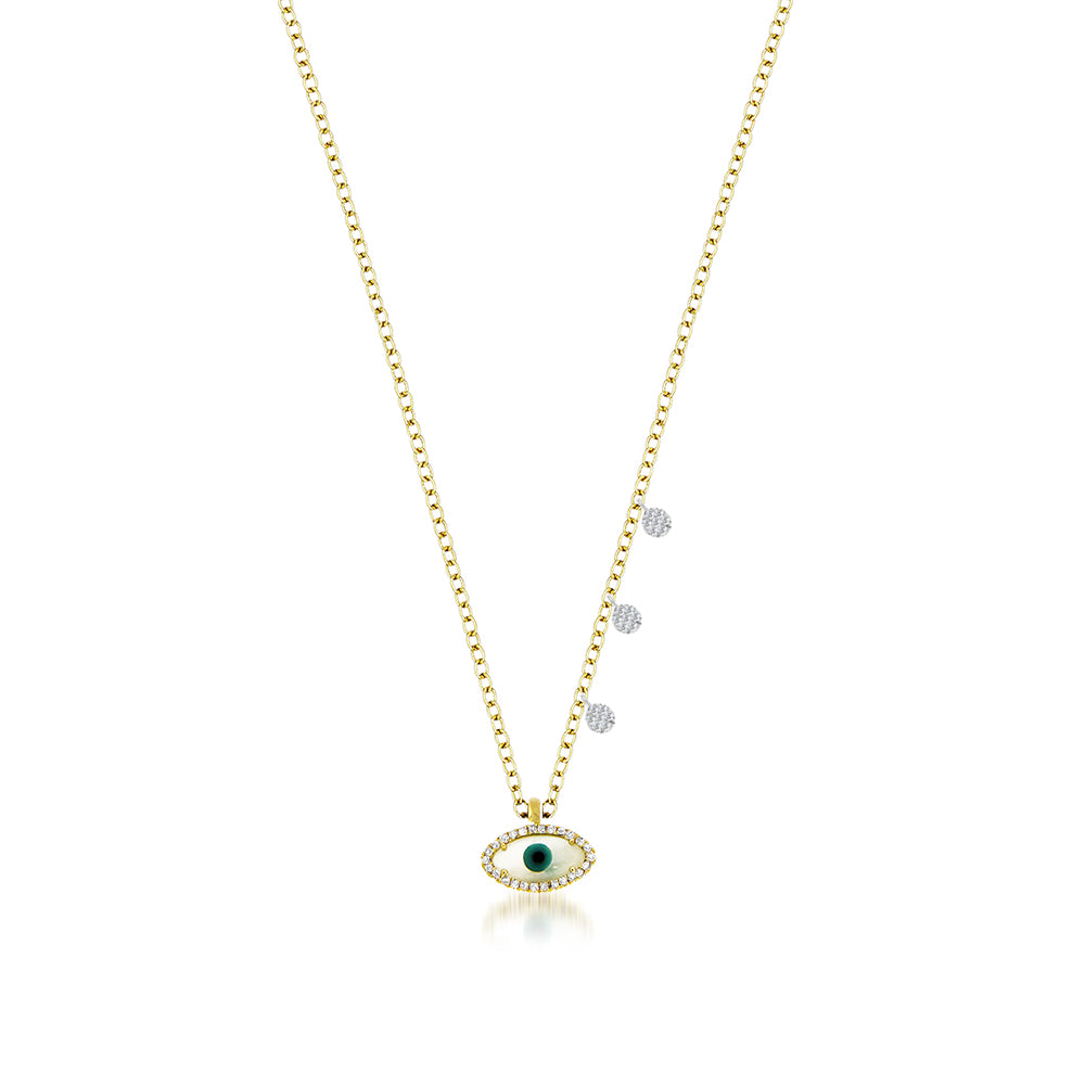 Evil Eye Dainty Necklace