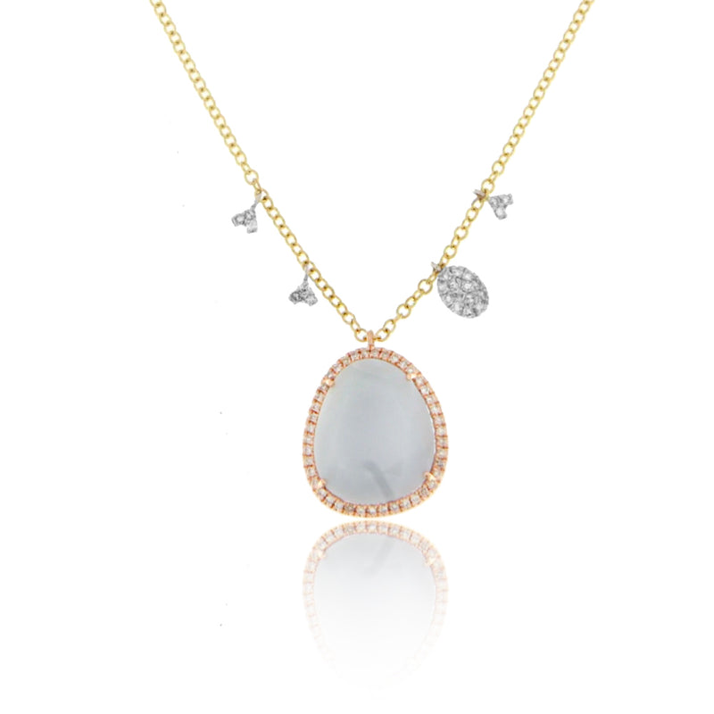 Yellow and Rose Gold Necklace