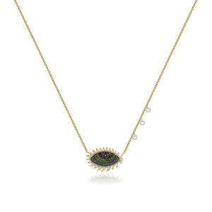 Lashes Evil Eye Necklace
