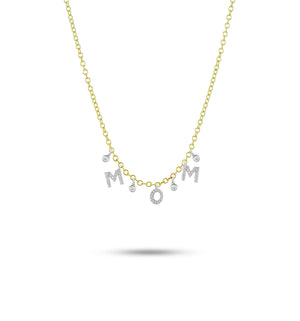 Meira T Mom Diamond Necklace