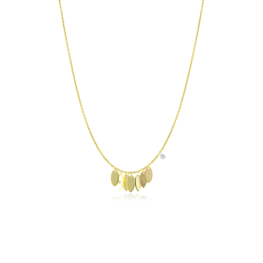 Fringe Gold Necklace